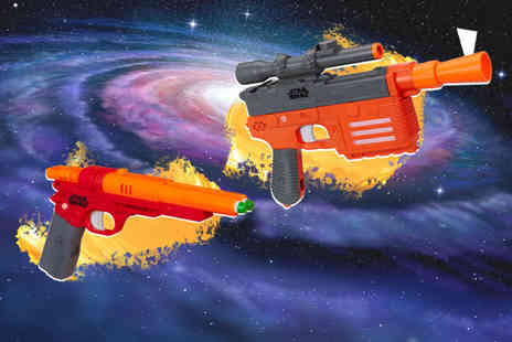 Deal Berry - Star Wars QiRa Nerf and Han Solo gun - Save 60%