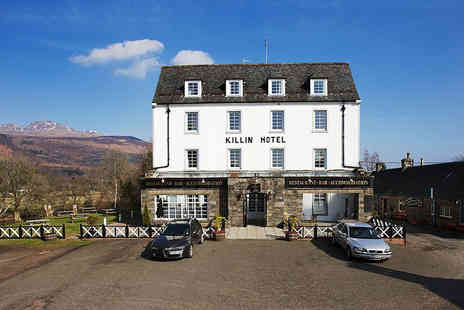 The Killin Hotel - Overnight stay with breakfast and a two course dinner - Save 40%