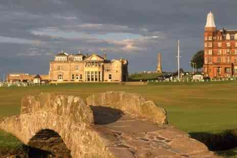 Duncan McNab Day Tours - St Andrews Golf, History and Coastal scenery - Save 0%