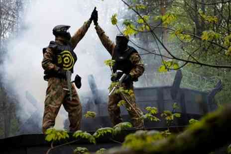 Delta Force Paintball - Full day paintball pass in Edinburgh - Save 0%
