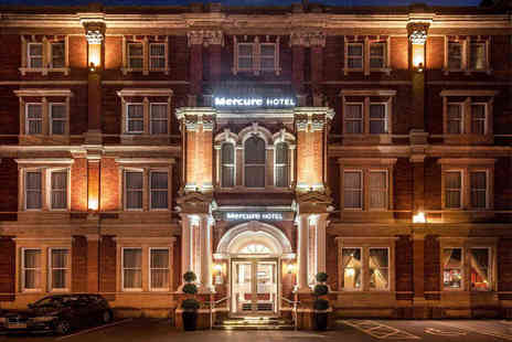 Mercure Exeter Rougemont Hotel - One nights stay for two with a bottle of Prosecco and late checkout - Save 53%