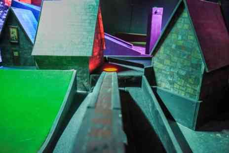 Scrapheap Golf - 18 Holes of Themed Mini Golf and Hot Dog for Up to Four - Save 38%