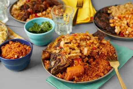 Uriels Diner - Nigerian Meal for One, Two or Four - Save 34%