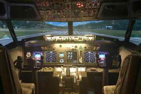 Flight Deck Reality - One Hour Flight Simulator for One or Two - Save 39%