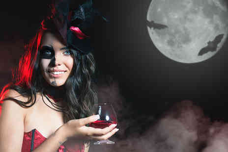 The Total Package - Ticket for one to the Halloween party evening with a welcome cocktail - Save 50%