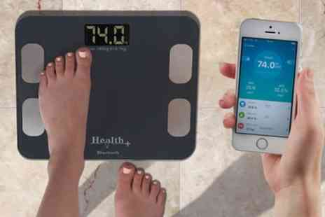 Groupon Goods Global GmbH - Easy to Use Smart Body Bluetooth Scales - Save 55%