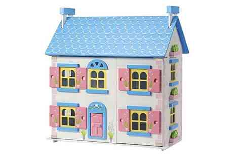 CJ Offers - Wooden dolls house - Save 60%
