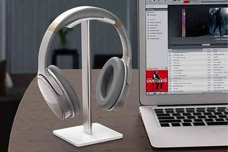 MBLogic - Metal headphone stand choose from two colours - Save 0%