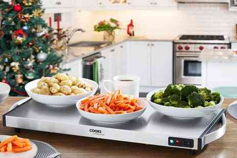 CJ Offers - Cooks Professional 1300W cordless buffet warmer - Save 29%