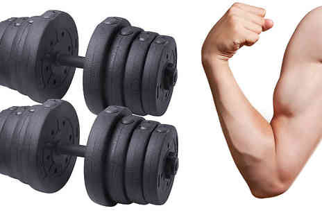 Home Season - 30kg Dumbbells Set - Save 57%