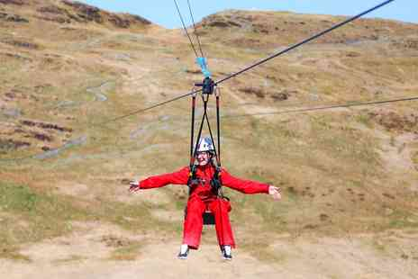 Zip World - Zip line and caving adventure in Snowdonia - Save 32%