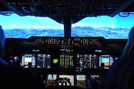 Flight Simulators Midlands - Jumbo jet flight simulator experience - Save 48%