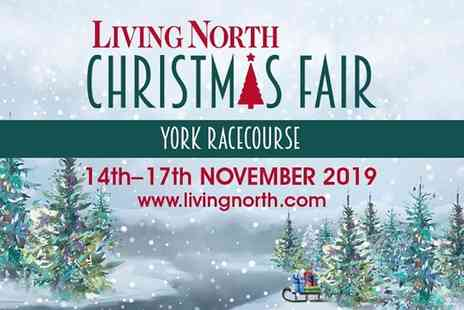 Living North - Two tickets to Living North Christmas Fair on Thursday 14th to Sunday 17th November - Save 50%