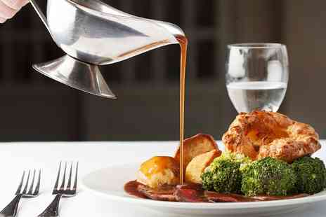 Nunsmere Hall Hotel - 2 AA Rosette Sunday lunch and bubbly for Two - Save 44%