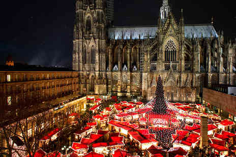 Travel Center - Two nights Cologne Christmas markets break with return flights - Save 55%