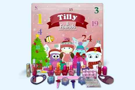 Forever Cosmetics - Tilly 24 Days of Beauty Advent Calendar - Save 63%