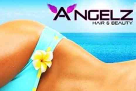 Angelz Hair and Beauty - One Session of Spray Tanning - Save 60%