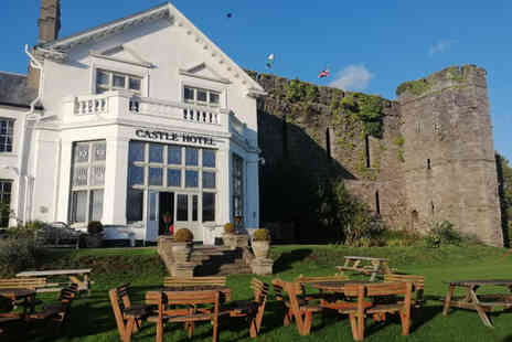 The Castle Of Brecon Hotel - Overnight stay for two people with breakfast and a two course dinner or Two nights with dinner on the first night - Save 49%