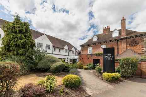 Swans Nest Hotel - Four Star Overnight Stratford upon Avon stay for two people with breakfast, early check in and late check out - Save 0%