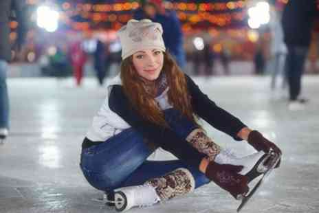 Worthing Ice Rink - Ice Skating Ticket for Up to Four - Save 40%