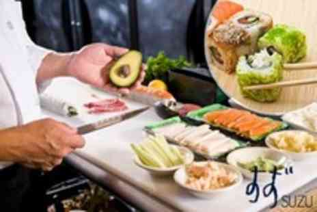 Suzu - Two Hour Sushi Making Class For One With Plum Wine and Snacks - Save 62%