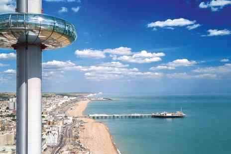 Brighton i360 - Entry to seafront viewing tower - Save 39%