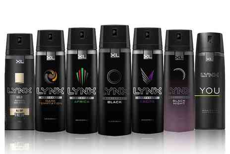 Avant Garde Brands - Six pack of Lynx deodorant body sprays - Save 69%
