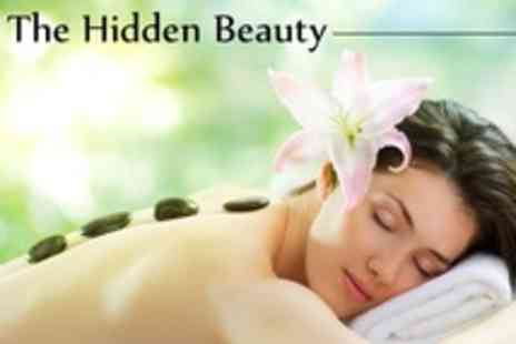 The Hidden Beauty - Beauty Treatments Choice of Two Such as Hot Stone Massage or Manicure - Save 60%