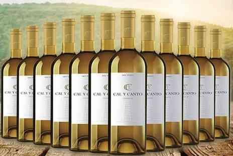 Q Regalo - Case of 12 fruity Spanish wines choose from white or rose - Save 66%