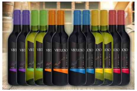Q Regalo - 12 bottles of Spanish wine - Save 70%