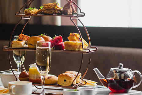 Park Grand Lancaster Gate - Your choice of a traditional, chocolate or Indian inspired afternoon tea for two people with a bottle of bubbly to share - Save 66%