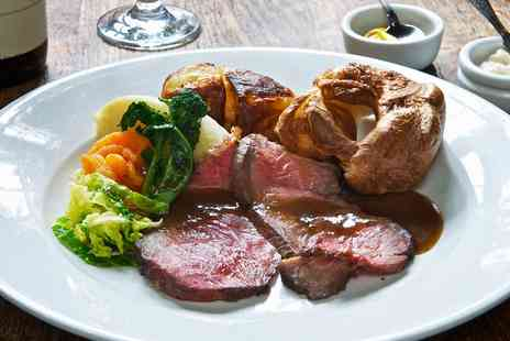 The Walnut Tree - Three course Sunday lunch for 2 at 15th century Kent inn - Save 38%