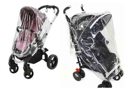 For Your Little One - Universal pushchair rain cover - Save 0%