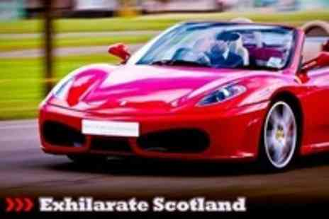 Exhilarate Scotland - Supercar Driving Ferrari, Lamborghini and Aston Martin Options Plus Hot Laps on Choice of Race Track - Save 69%