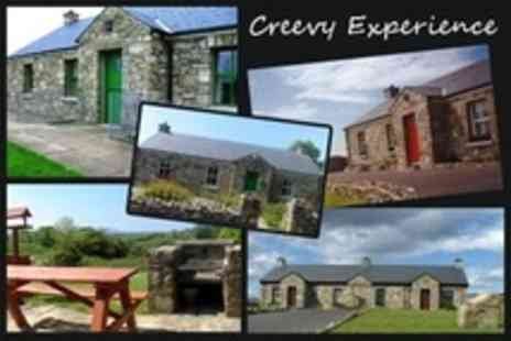 Creevy Experience - In Donegal Bay Three Night Cottage Stay For Four With Welcome Hamper - Save 58%