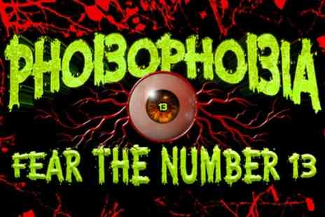 Phobophobia Fear the Number 13 - One standard admission ticket on 26th October - Save 50%