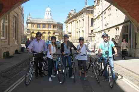 Footprints Tours - Oxford Bike Tour - Save 0%