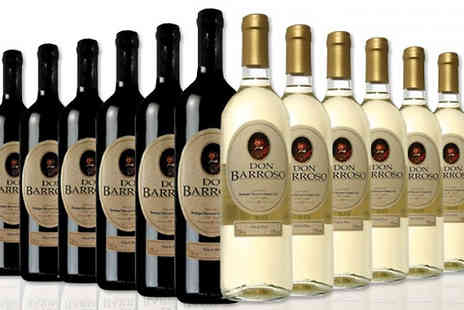 MGB Lifestyles - Selection of 12 Bottles of Tierra de Castilla Spanish Wine Choose from 3 Options - Save 65%