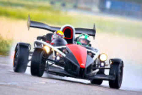Car Chase Heroes - Three lap adult driving experience in a Aerial Atom - Save 51%