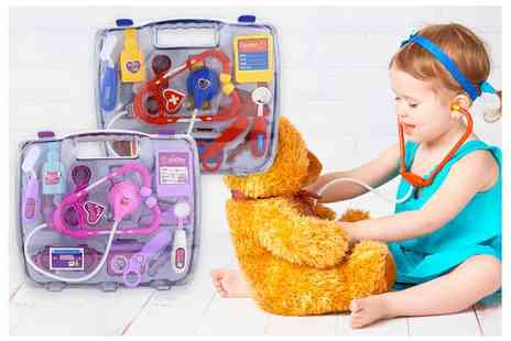 Litnfleek - Childrens play doctors set choose your colour - Save 84%