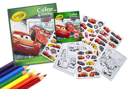 Deal Berry - Disney Pixar Cars Crayola colouring and sticker book - Save 0%