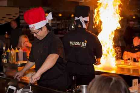Wasabi Teppan Yaki Stockton Heath - Five Course Teppanyaki for Two or Four - Save 41%