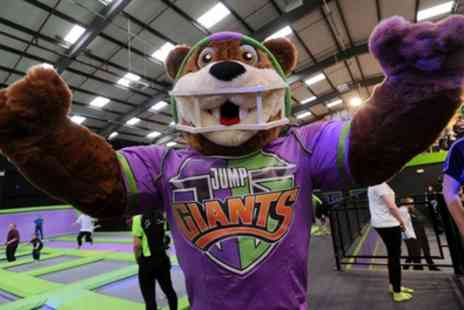 Jump Giants Leicester - Trampoline Party for Up to 12 Children with Food and Drinks - Save 19%