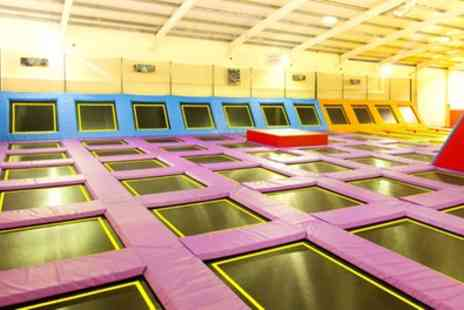 Sky High Trampoline Park - Two Hour Trampoline Park Access - Save 50%