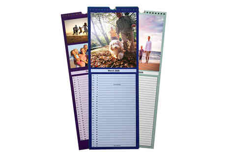 uPhotogifts - Personalised thin A3 calendar - Save 44%