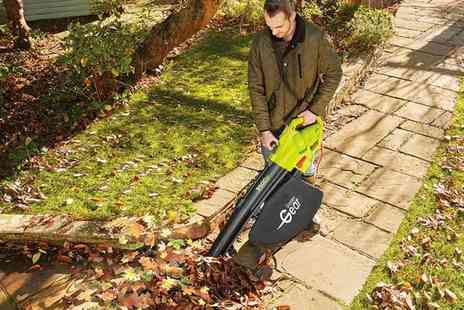 CJ Offers - Three in one garden blower, vacuum and shredder - Save 56%