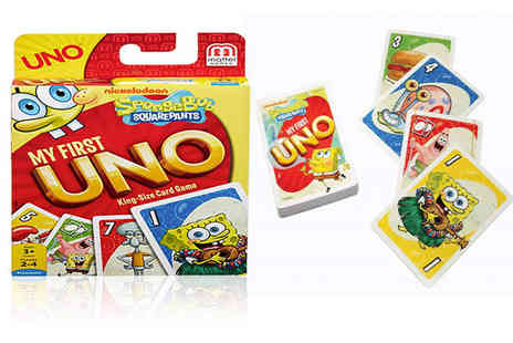 Deal Berry - Spongebob Squarepants My First UNO card game - Save 0%