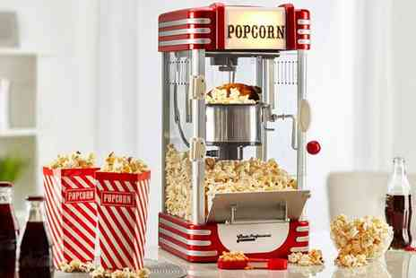 CJ Offers - Cooks Professional hot air popcorn maker - Save 58%