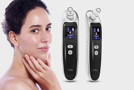WhoGotThePlan - Pore cleansing blackhead remover with Led screen - Save 70%
