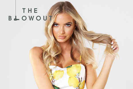 The Blowout - Luxury professional blow dry with a glass of Champagne - Save 46%